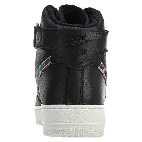 Nike Air Force 1 Hoch '07 Lv8 Mens Style: 806403 Schwarz / Schwarz Summit Weiß