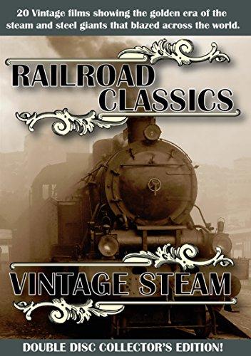 Railroad Classics/Vintage Steam Double Disc -  DVD