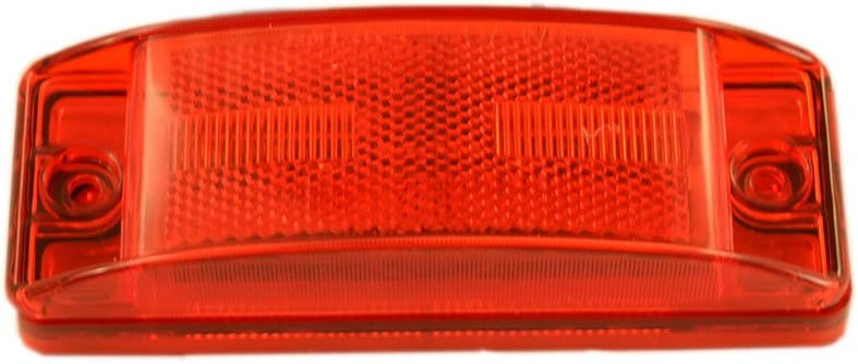 Power Products 21 series LED Clearance Marker Light Reflex lens Bullet terminals 12 volt