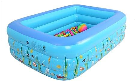 S-AIM Piscina Hinchable, Piscina Hinchable para niños, Piscina Familiar, Centro de natación para niños, bebés, Adultos, niños pequeños, al Aire Libre, jardín, Patio Trasero: Amazon.es: Hogar