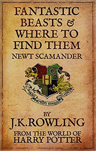 Resultado de imagen de fantastic beasts and where to find them book