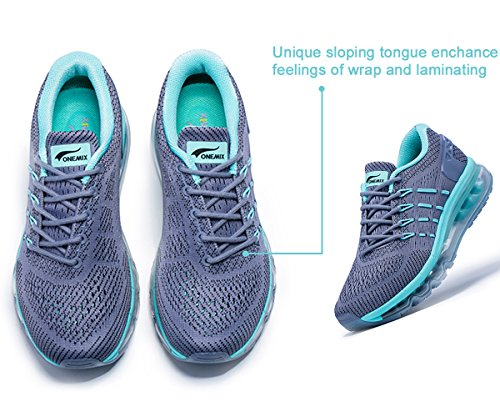 Air Multi Fitness Grey Sport Green for Women's Athletic Jogging Shoes Trainers Running OneMix 5wSYqgS