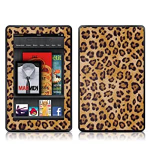 Kindle Fire Skin Kit/Decal - Leopard (will not fit HD or HDX models)