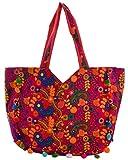 Jaipuri handmade valvet bag (Pink) RT 029
