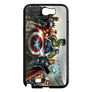 Samsung Galaxy N2 7100 Cell Phone Case Black Avengers Hzqe