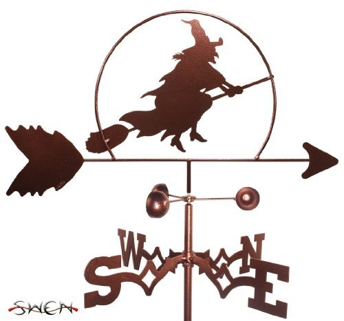 Hand Made WITCH HALLOWEEN SIDE Mount Weathervane ~NEW~ by SWEN Products ()