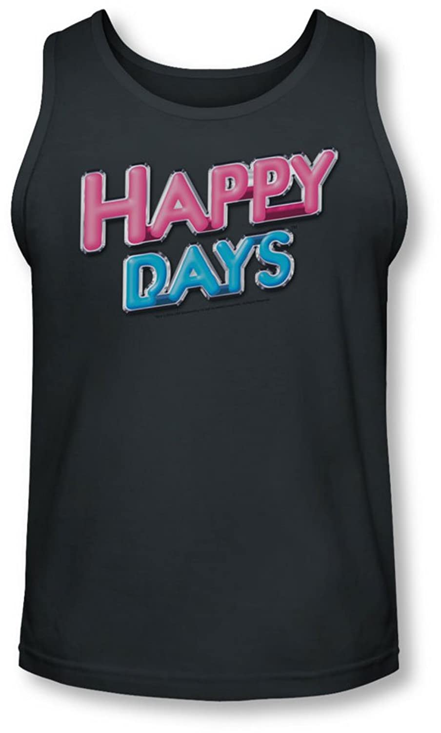 Happy Days - Mens Happy Days Logo Tank-Top