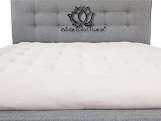product image for White Lotus Home Green Cotton and Wool Boulder Dreamton Mattress, X-Large/Twin/7""