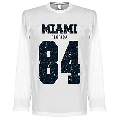 Miami ?84 Long Sleeve T-shirt - weiß