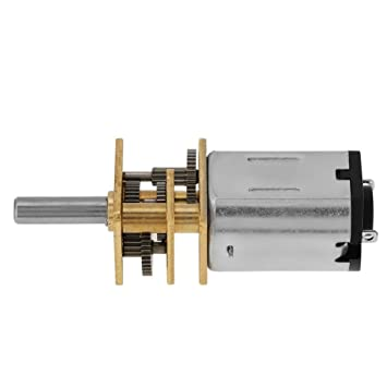 New 3V-12V Metal Micro Gearbox Speed Reduction Motor 50-2000RPM DC Brushed Motor