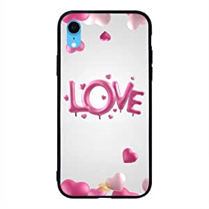 iPhone XR / 10r Case Cover Love and Heart Ballons Moreau Laurent Premium Design Phone Covers