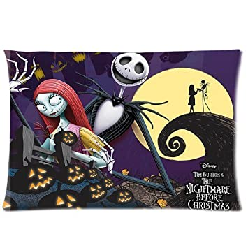 Amazon.com: The Nightmare Before Christmas Jack and Sally Print 20 ...