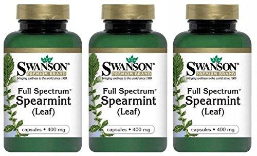 Swanson Premium Spectrum Spearmint Capsules