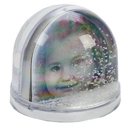 Extra Large Christmas Snow Globe with Glitter Photo Frame - Lovely Christmas Gift