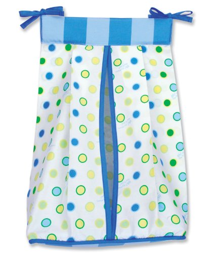 Trend Lab Dr. Seuss Diaper Stacker, Oh! the Places You'll Go! Blue