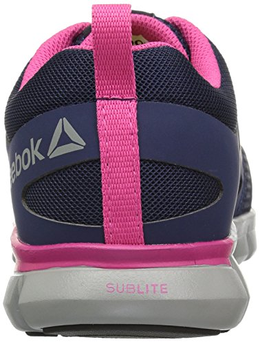 Women's Navy Cushion US Boot 11 M Pink Work Sublite RB046 Reebok FYHqEdq