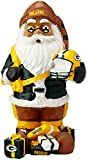 FOCO Green Bay Packers Mini Thematic Santa
