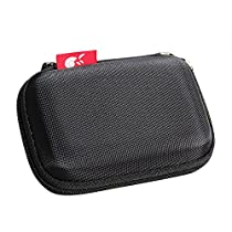 For Anker PowerCore 10000mAh (AK-A1263011) Portable Charger Ultra-Compact Power Bank Travel EVA Hard Protective Case Carrying Pouch Bag by Hermitshell