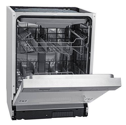 Bomann GSPE 880 Einbau-Geschirrspüler / Teilintegriert / A++ / 266 kWh /14 Maßgedecke