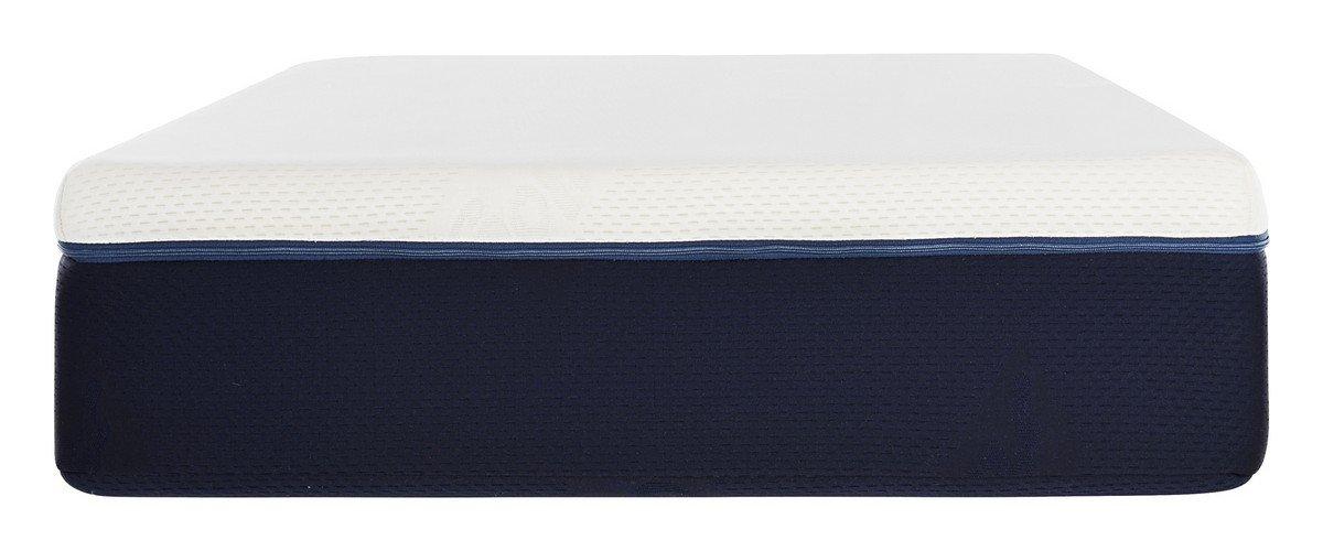 Ecus Care ECAR190080 - Colchón juvenil, color blanco y azul: Amazon.es: Bebé