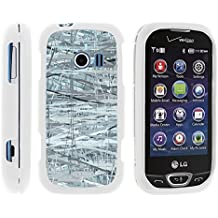 Extravert 2, Slim Hard Shell Snap On Case with Custom Images for LG Extravert 2 VN280 (Verizon) by MINITURTLE - Shattering Winter