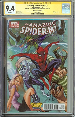 AMAZING SPIDER-MAN #1.1 CGC 9.4 WHITE PAGES