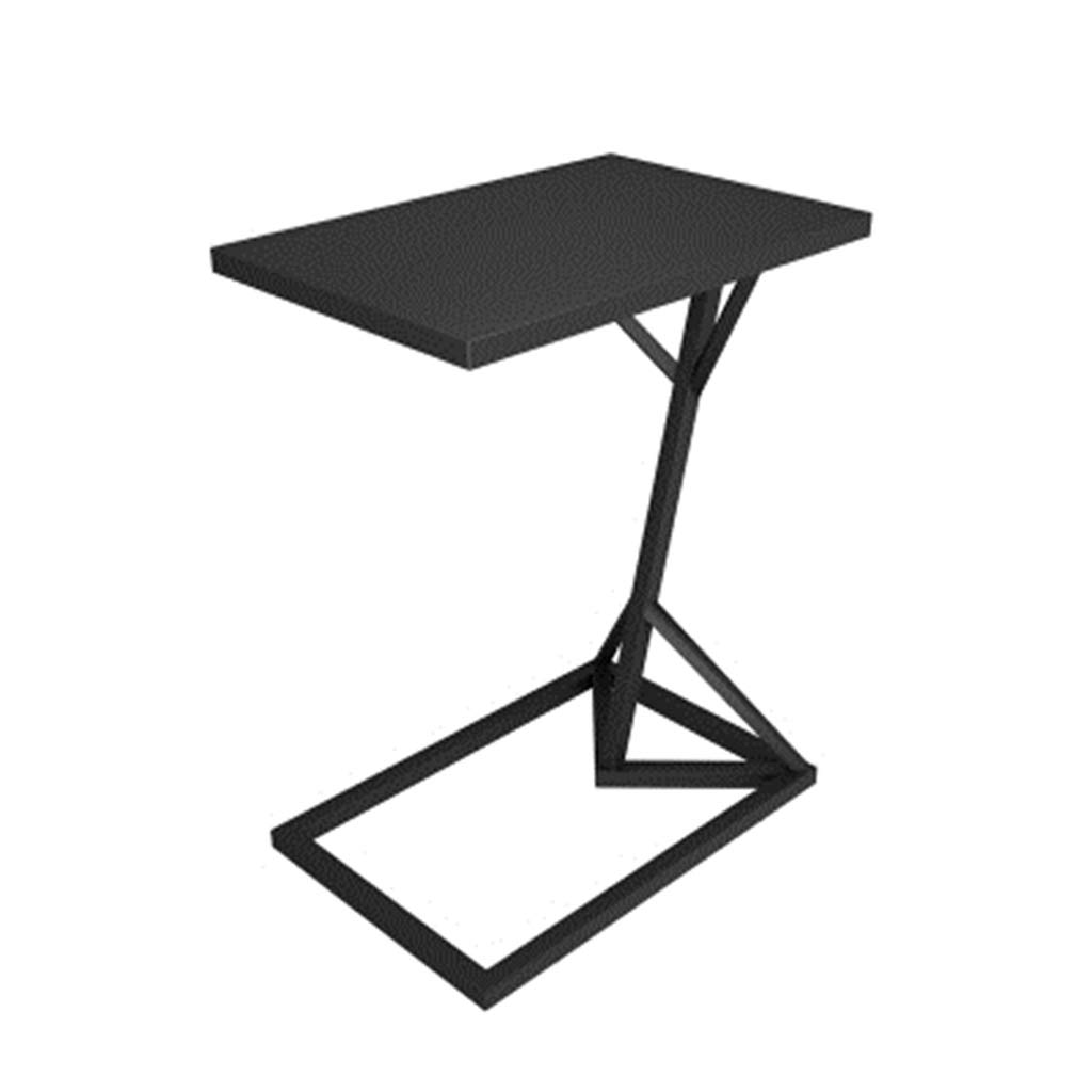A Iron Small Square Table Bedroom Bedside Table Sofa Side Table
