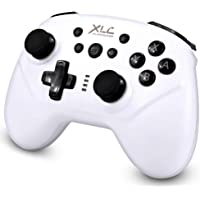 XLC Wireless Pro Controller for Nintendo Switch (White)