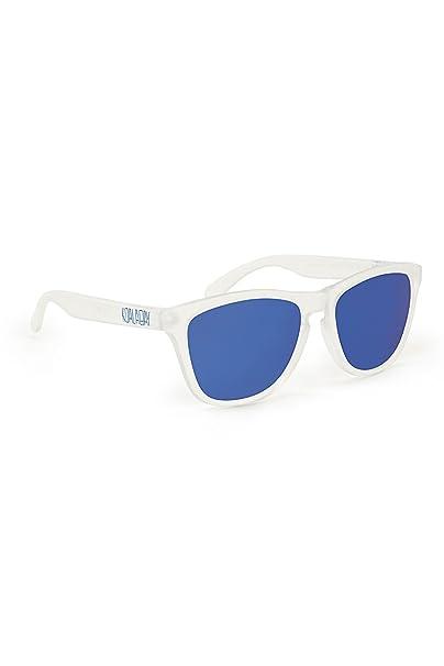 KOALA BAY - Gafas Polarizadas Palm Beach Blanco Transparente Lentes Azul Espejo Koala Bay