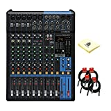 Yamaha MG12XU 12 Channel Analog Mixer with 6 Microphone Preamps