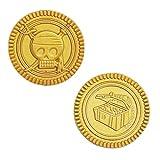 Unique Pirate Treasure Gold Coins, 30ct