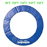 8FT 10FT 12 FT 14 FT 15 FT Zupapa Trampoline pad replacement Surround Spring Cover Padding (15FT)