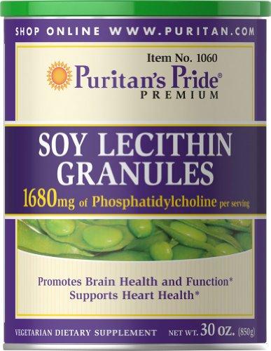 Puritan's Pride Soy Lecithin Granules 1680 mg-30 oz Granules