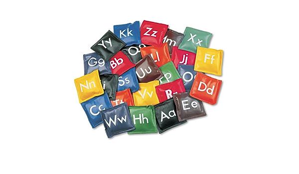 Champion Sports 5 Inch Alphabet Bean Bag Set