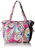 Vera Bradley Iconic Glenna Tote, Signature Cotton, Wildflower Paisley