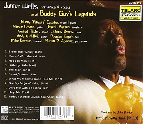Live At Buddy Guy's Legends by Wells, Junior (Image #1)