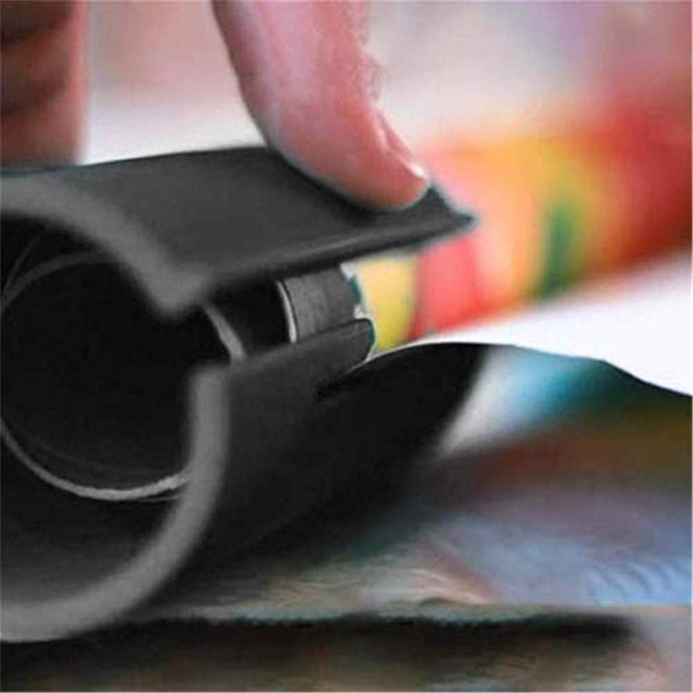 Ufficio a casa Carta da regalo Utensili da taglio Sicurezza Taglierina del cursore della carta da imballaggio Carta per incartare Fresa Rotolo taglierina scorrevole