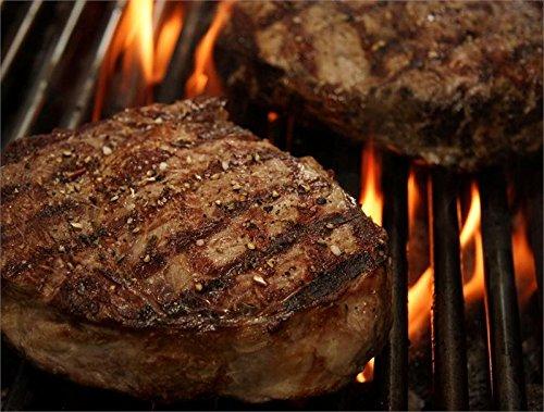 2 New York Steaks (USDA Choice Beef Rib Eye Steak Boneless, 2 pack, 2