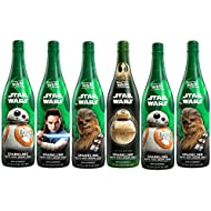 Welch's Sparkling White 100% Grape Juice, Non-Alcoholic, Star Wars, 25.4 Ounce Bottles (Pack of 6)
