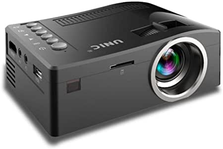 Juzie Mini proyector portátil Multimedia Full HD, Soporte HDMI VGA ...