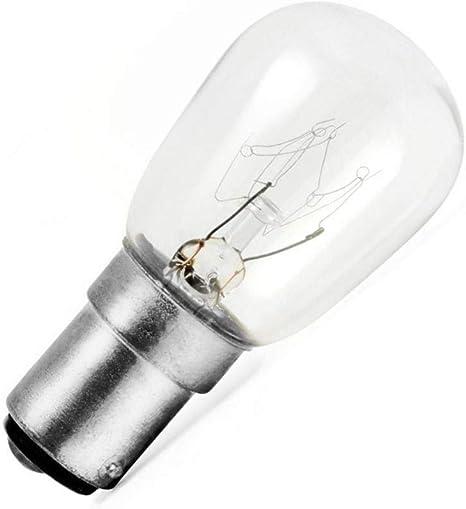 Luces Edison 5 bombillas incandescentes 15 W B15 220 V bombilla de ...