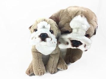 Amazon Com Varies Nat Jules Plush Momma And Baby Bulldogs Toy