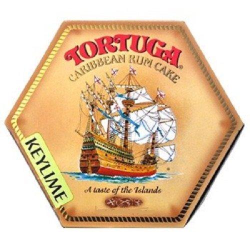 TORTUGA Caribbean Key Lime Rum Cake - 4 oz. - The Perfect Premium Gourmet Gift