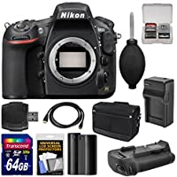 Nikon D810 Digital SLR Camera Body with 64GB Card + Battery & Charger + Shoulder Bag + Grip + Accessory Kit Benefits Review Image