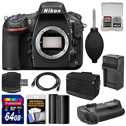 nikon-d810-digital-slr-camera-body-with-64gb-card-battery-charger-shoulder-bag-grip-accessory-kit