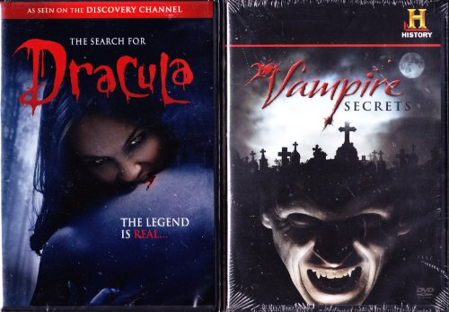 The Search for Dracula : Discovery Channel Vampire Documentary , The History Channel : Vampire Secrets The History Of Vampires : 2 Pack Set ()