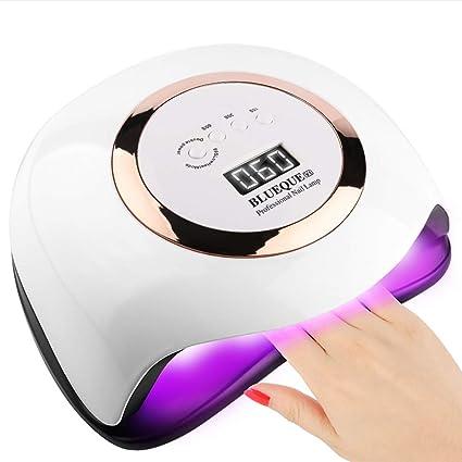 Amazon.com: 168W Nail Lamp, UV LED Nail Lamp 42 Lights Gel Polish Nail Curing Nail Dryer Nail Light with 4 Timer Setting: Home Improvement