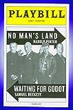 No Man's Land, Broadway playbill + Ian McKellen, Patrick Stewart, Billy Crudup, Shuler Hensley