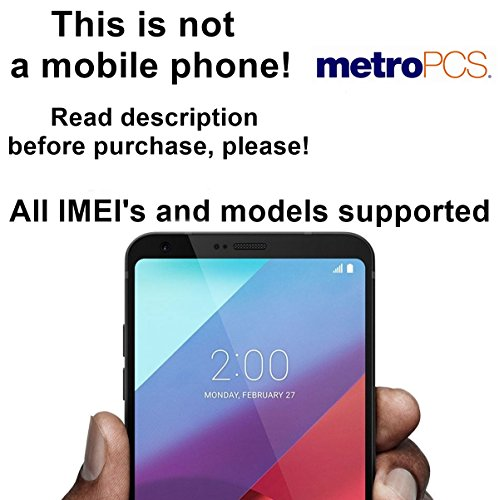 MetroPCS USA Unlocking Service for LG G6, G5, G4, G3, V10, Optimus L9 and Other Models Which Ask For an Unlock Code - Make Your Device More Useful Than Before - Choose Any Carrier at Your Own at Any Time You Need - No Re-lock Lifetime Guarantee