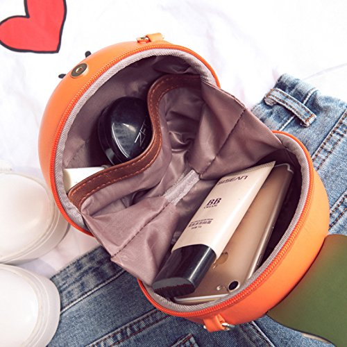 embrayage de sac Pu Fruit cuir sac main main en Cross Orange femmes SODIAL forme a a en Yw0qIxq7